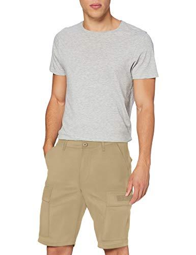 Superdry Field Cargo Short Pantalones Cortos, Beige (Army Sand S0l), 48 (Talla del Fabricante: 31) para Hombre