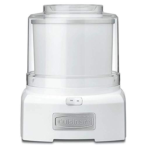 Cuisinart White Frozen Yogurt-Ice Cream & Sorbet Maker