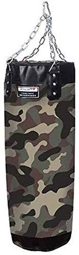Boxing Boxsack, Trainings-Tasche mit Ketten für Jugendliche, Hohlselbst Filling Camouflage Stoff, für Druckentlastung/MMA-Trainingsgeräte Heim