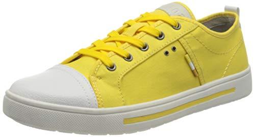 Jana Softline Damen 8-8-23664-26 627 Sneaker, Gelb, 40 EU