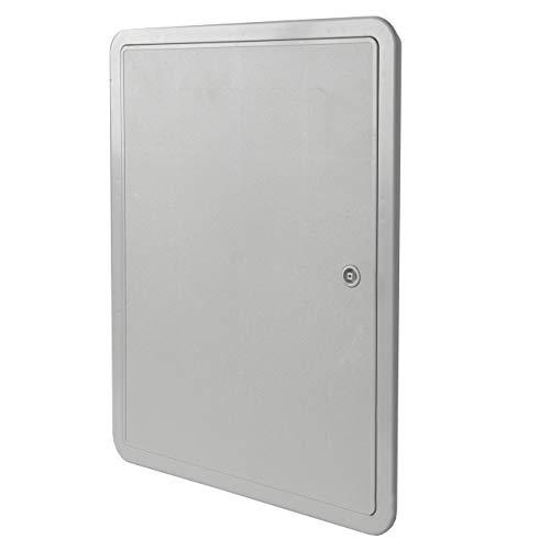 La ventilación si3040g-y Puerta de inspección de ABS, Gris, 320x 420mm