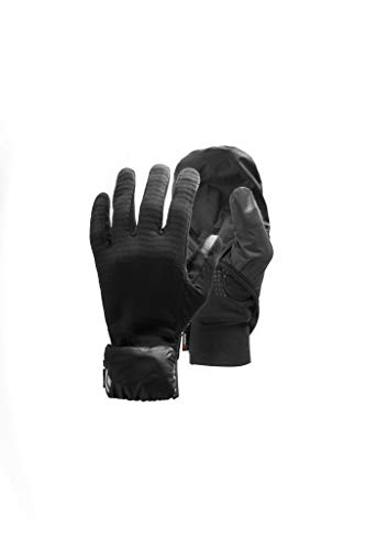 Black Diamond Wind Hood Gridtech Gloves Guantes, Unisex Adulto, Extra Small