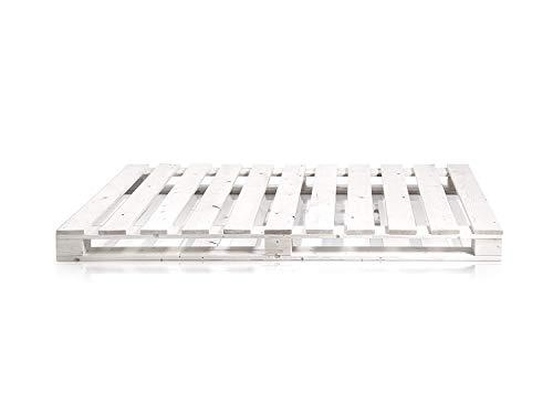 Dydaya 1 x Palet Pintado de Blanco para colchon de 135 x 200. Somier & Base & Estructuras Originales & Juveniles