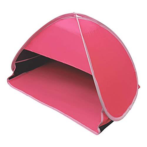JJSCHMRC Refugios de sol de playa, mini cabeza de protección solar, toldo automático de la sombra de la tienda de campaña portátil camping senderismo playa refugio toldo a prueba de viento