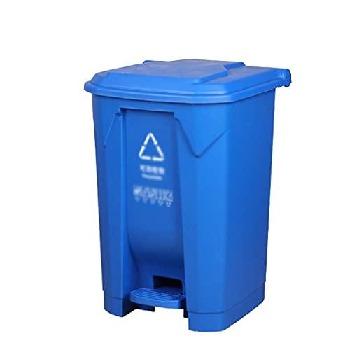 LSNLNN Papelera de Residuos, Clasificación de Basura Papelera de Residuos Al Aire Libre, con Cubierta de Recubrimiento Papelera de Reciclaje de la Basura de la Basura Del Jardín Del Jardín de la Call