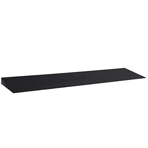 LIEKUMM Rampa para umbrales de goma de 3 cm Rise Doorways Rampa para silla de ruedas (RTR90-3.0)