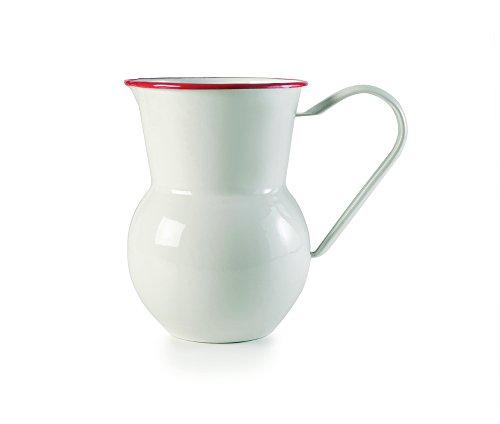 IBILI 913115 Pot à Eau San, INOX, Blanc, 13 x 13 x 18 cm