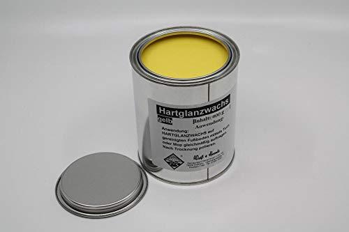 Wasserrose® 600 g (100g=1,83€) BOHNERWACHS HARTGLANZWACHS BODENWASCHS TRENNWACHS GELB Made IN Germany