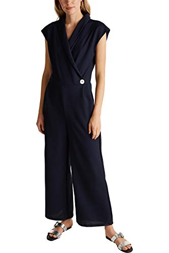 ESPRIT Collection 030EO1L301 Overall, Damen, Blau S