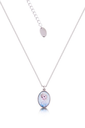 Couture Kingdom Disney Princesse Elsa La Reine des Neiges Frozen Femme Fille Necklace Collier Pendentif