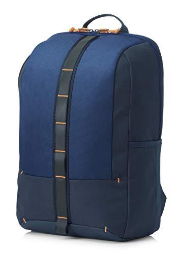 "HP Commuter - Mochila para portátiles y netbooks (Monótono, Unisex, 15.6""), Azul"