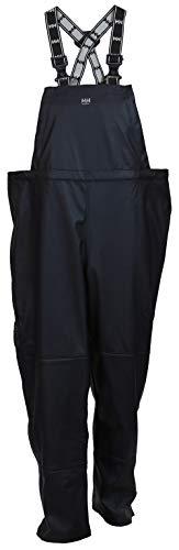 Helly-Hansen Workwear Men's Impertech Rain and Fishing Bib Pant, Navy - Medium