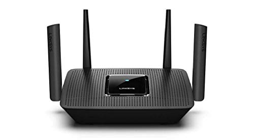 Linksys MR8300 AC 2200 Tri-Band Gigabit Wireless Router (Black, Not a Modem) MU-Mimo Wireless Gaming Mesh WiFi Router (MR8300)
