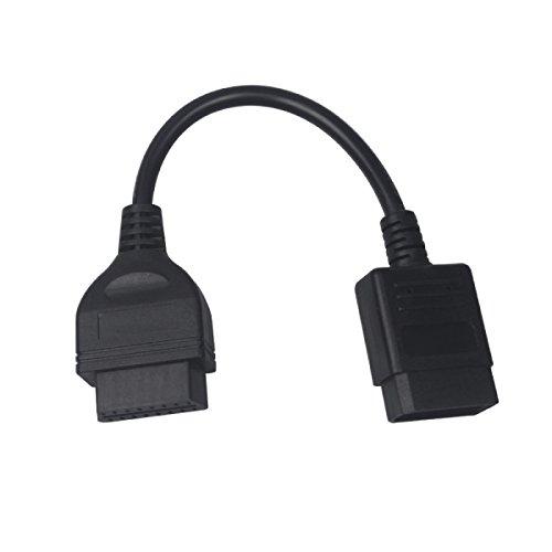 Câble adaptateur de diagnostic pour Nissan 14 broches mâle vers OBD OBD2 OBDII DLC 16 broches femelle