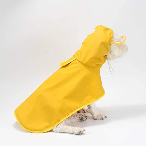N\C Impermeable para Perros, Impermeable, Impermeable para Perros, para Perros pequeños y Grandes, Ropa de Corgi Labrador, Chaqueta para Mascotas al Aire Libre, Ropa para Lluvia M-8 XL