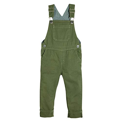 OFFCORSS Bib Overalls for Toddler Baby Boys Adjustable Straps Ages 1-5 Ropa para Niños Green 2T