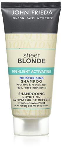 John Frieda Sheer Blonde Highlight activering hydraterende shampoo, 50 ml