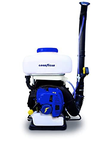 Goodyear Sulfatadora 14 l Gasolina, Pulverizador de Espalda, Atomizador de Gasolina 51,7 c.c. 6500 RPM.