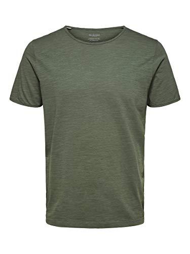 SELECTED HOMME 16071775 T-Shirt, Spruzzo di Mare, XXL da Uomo