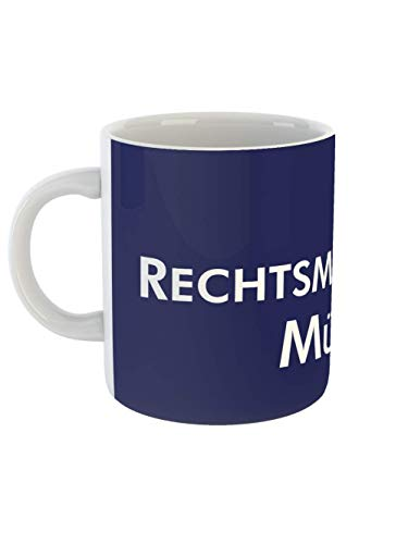 Rechtsmedizin Münster Tasse Weiss