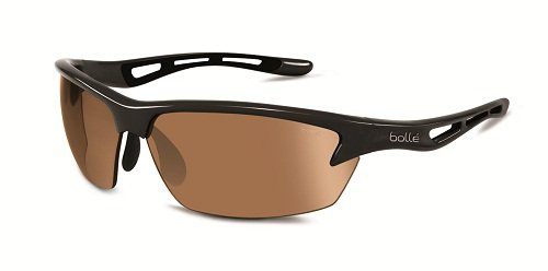 bollé Bolt, Occhiali da Sole Unisex Adulto, Shiny Black Photo, L