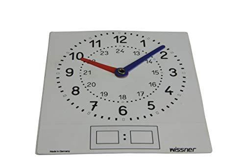 WISSNER aktiv lernen - 10 beschriftbare Folien Uhren - RE-Plastic°