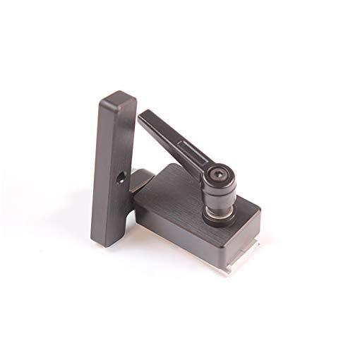 Festnight T-slot Mitre Track Stopper Lega di alluminio Chute Limit Flip Manuale per la lavorazione del legno Strumento fai da te