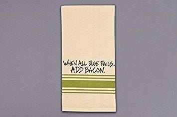 Magnolia Lane When All Else Fails Add Bacon Hand Towel