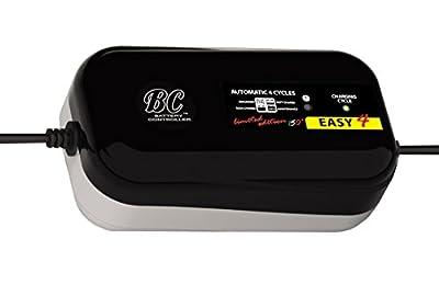 BC Bravo Digital Supersafe 8-Step Battery Charger + Battery & Alternator Tester - Multilanguage Display - US Plug