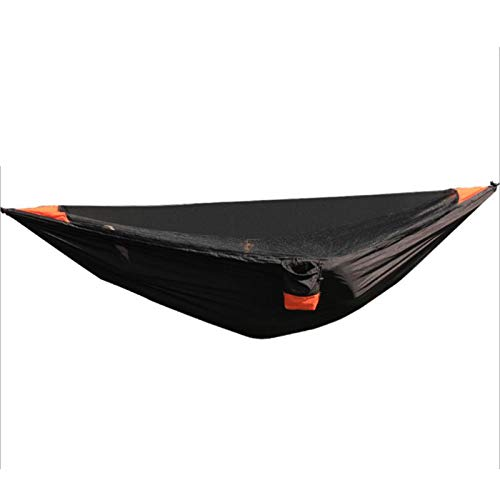 Camping Hammock, Portable Double Hammock with 2 Tree Straps, 2 Person Hammocks with 210T Parachute Nylon for Backpacking, Outdoor, Beach, Travel, Hiking, Garden.