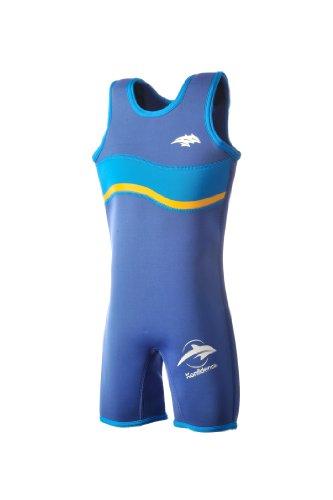 Konfidence Warma, Neopren-Anzug für Kinder Gr. 2-3 Jahre, blau