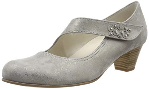 Gabor Shoes Damen Comfort Basic Pumps, Beige (Taupe 93), 38 EU