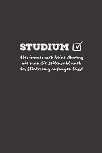 STUDIUM: Journal Notebook Sketchbook Diary for teachers - Notizbuch Tagebuch für Lehrer: Dot Grid Journal or Notebook (6x9 inch) with 120 Pages for Teachers School or University