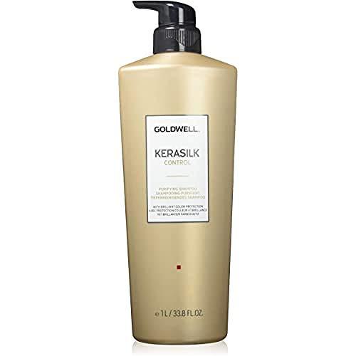 Goldwell Kerasilk Tiefenreinigendes Shampoo, 1er Pack (1 x 1 l)