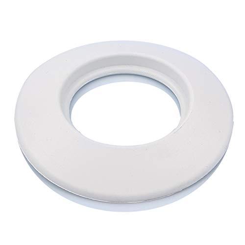 TYGERIX - Rosetón protector de pared de goma, diámetro de 100 mm, caldera de aire acondicionado y condensación