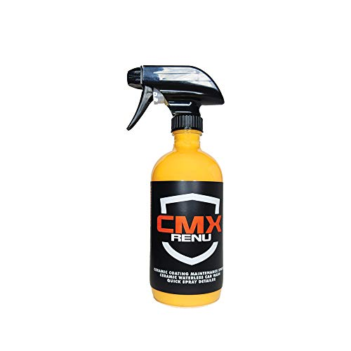 Scorpion Ceramix CMX Renu 3-in-1 Protectant (Rinseless Wash, Detail Spray and Ceramic Coating Sealant) - 16oz - Waterless Car Wash and Hydrophobic Water-Resistant Protection