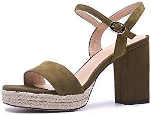 HommesGLTX Talon Aiguille Talons Hauts Sandales 2019 Nouvelle Arrivée Femmes Sandales Enfant Cuir Chaussures D'été en Cuir Boucle Mode Talons Hauts Plateforme Chaussures Femme Noir