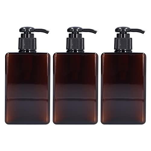CjnJX-Vases 3PCS 280ml Botella de Bomba Contenedor de jabón de Manos líquido vacío Botella de Prensa de plástico Adecuada para dispensar lociones, jabones, champús, acondicionadores