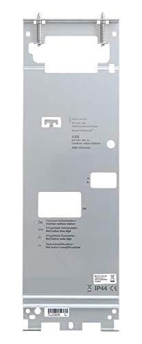 Busch-Jaeger Montageplatte 83534/14 Video 1/4 Studio-ws Montagezubehör für Türkommunikation 4011395231654