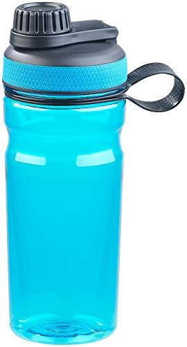 Speeron Fahrradflasche: BPA-freie Sport-Trinkflasche, 700 ml, auslaufsicher, blau (Campingflasche)