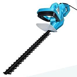 PSHH Taille Haie Électrique, Taille Haie avec Poignée Rotative À 180° Tondeuse Jardin avec Déflecteur Haute Qualité Et…