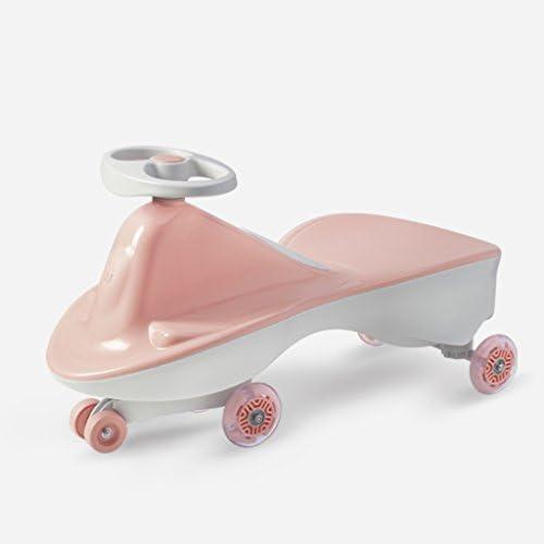 fürt auf Auto Plasma Autos R r Zahnr r oder Pedale Twist Turn Wiggle für endlosen Spaß Keine Montage erforderlich No Noise Toys Alter 3 Jahre alt und oben Kinder Kind Geschenk (Farbe   Rosa)