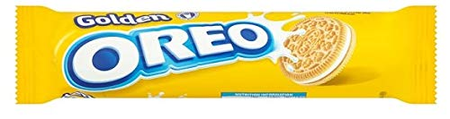 Oreo - Thins - Crispy Golden - 16 Packungen - 154 g pro Packung - Feiner Sandwich-Keks - Milchs Lieblingspartner - Schokoladenwaffel mit süßer Cremefüllung