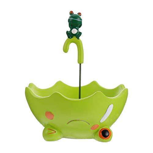 Nuojie Macetas de Interior y Exterior 1 Flowerpot Flowerpot Groot Maceta Maceteros Decorativos Paraguas Diseño Jardín Decorativo Maceta