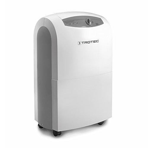 TROTEC Komfort Luftentfeuchter TTK 100 S (max.30 L/Tag), geeignet für Räume bis 230 m³ / 90 m², starker 0,65 kW-Kompressor
