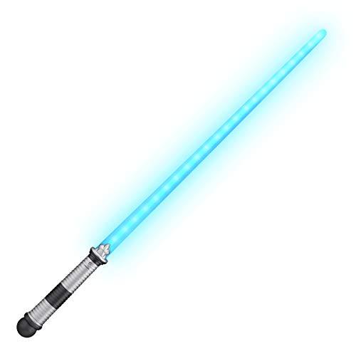 Blue LED Light Up Saber Space Sword
