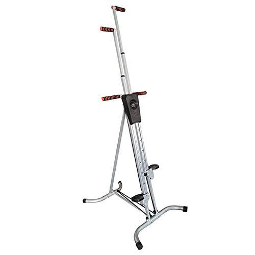 Escalada Vertical máquina de Pasos, Almacenamiento Plegable de Altura Ajustable para Trabajo Pesado Deportes Climbhigh de Formación Inicio Gimnasio con el Monitor