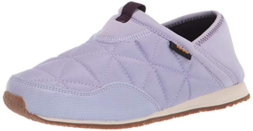 Teva Girls Kids Ember Moc Slipper, LANGUID Lavender, 4 Big