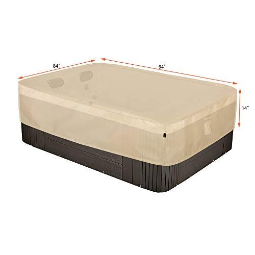 Hentex Rectangular Spa Cover for Hot Tub 94