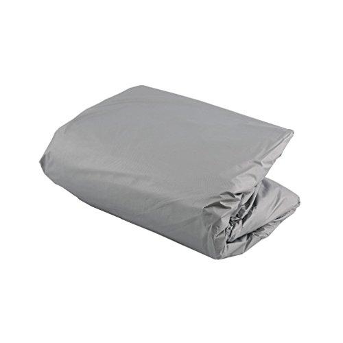 CandyTT Impermeable A Prueba de Polvo Membrana Exterior Cubierta Completa para automóvil Tejido Resistente a los Rayos UV Transpirable Al Aire Libre Lluvia Nieve Resistente al Hielo (grisM)